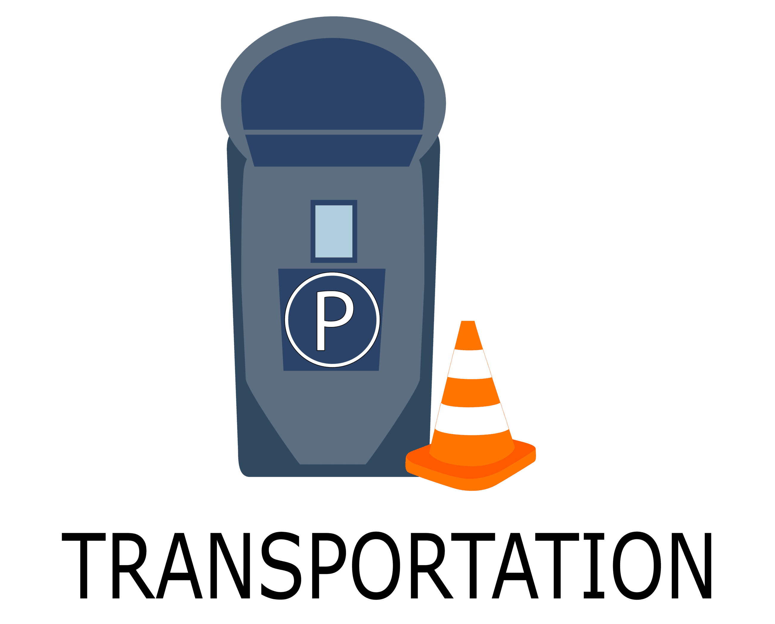 Transportation  Button