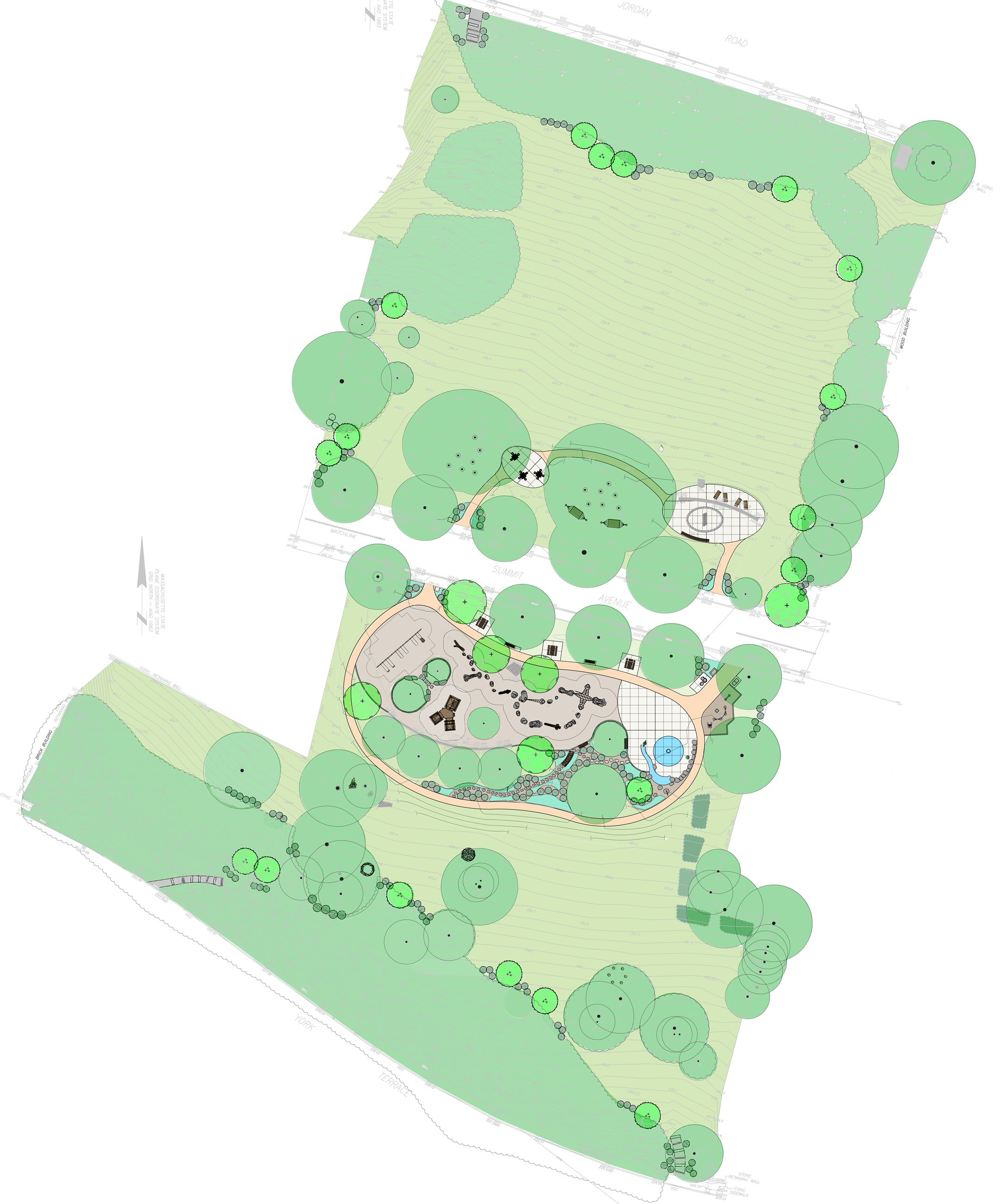Christmas Hill Park Map.Corey Hill Playground Brookline Ma Official Website