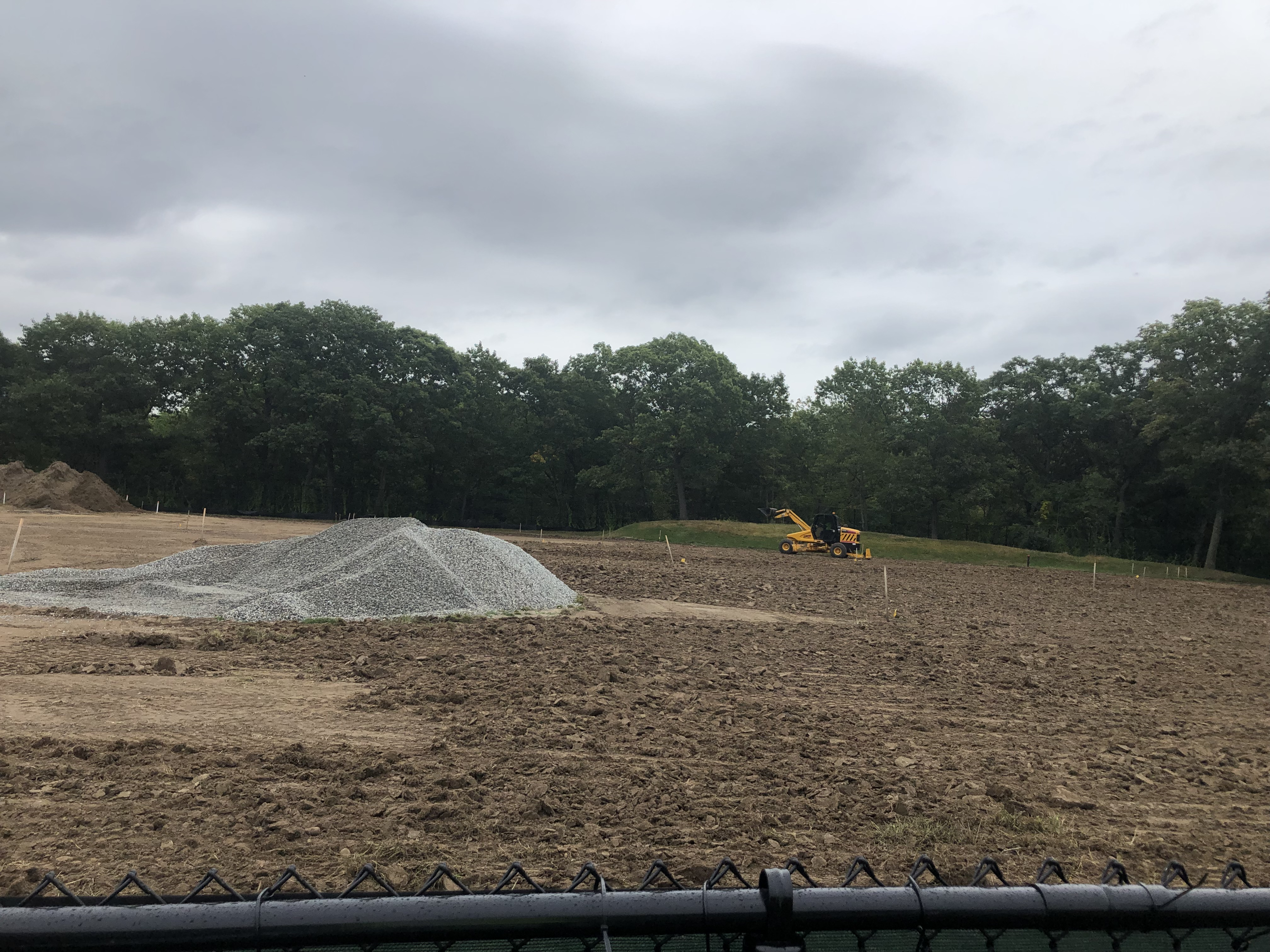 Harry Downes Natural Field Construction Progress Photo