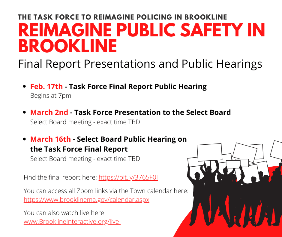 Final Task Force Hearings