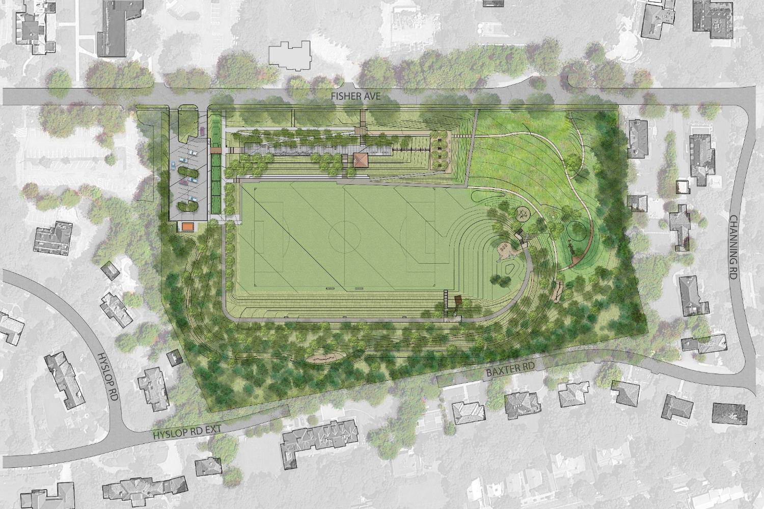 Fisher Hill Reservoir Park Plan
