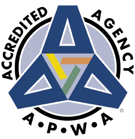 APWA Accredited Agency logo