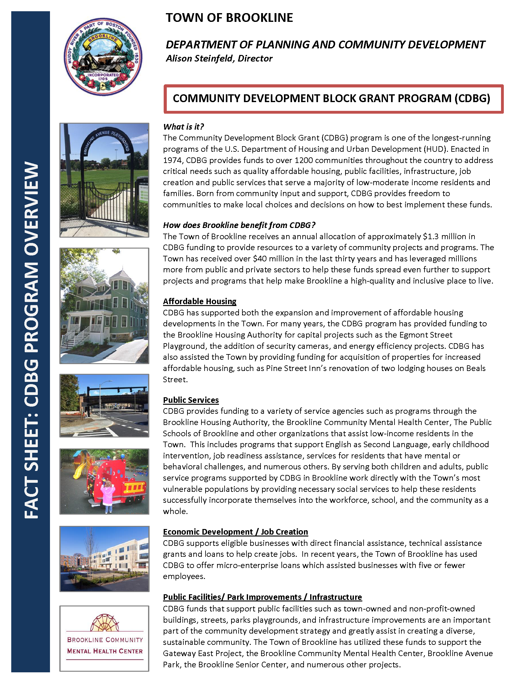 Brookline CDBG Fact Sheet colorseal Opens in new window