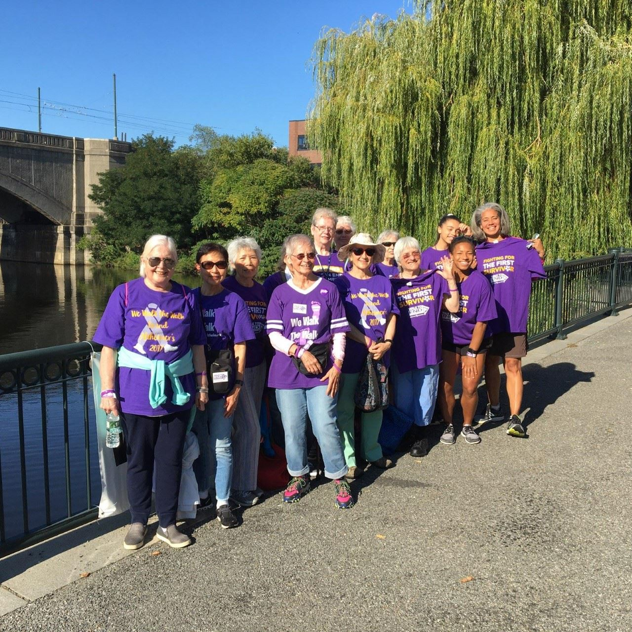 2019 Alzheimer's Walk Team
