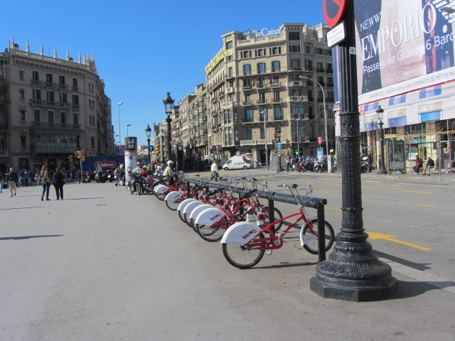 Bike Sharing in Barcelona, Spain