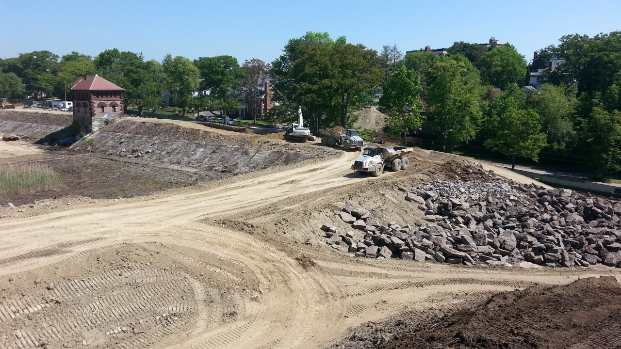 Fisher Hill Construction June 2014
