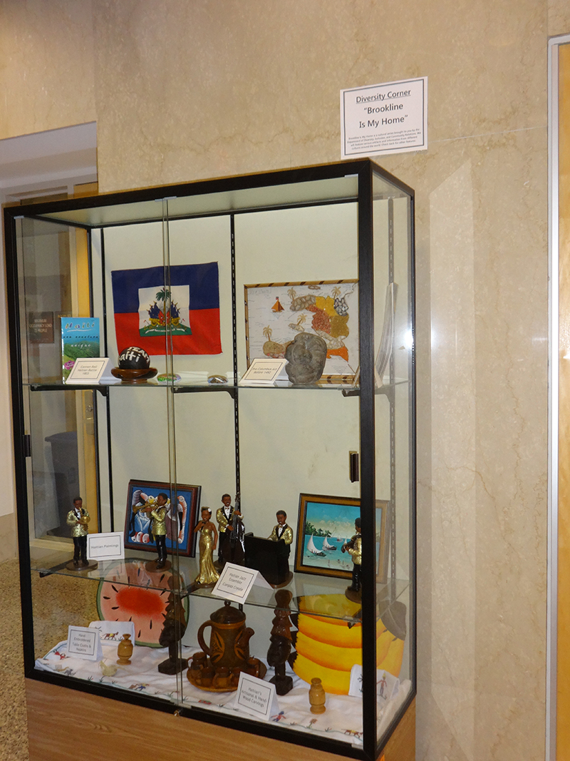 Haitian Cultural Display Case